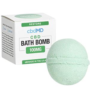 cbdMD cbd bath bomb