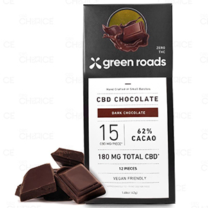 Green Roads CBD chocolate