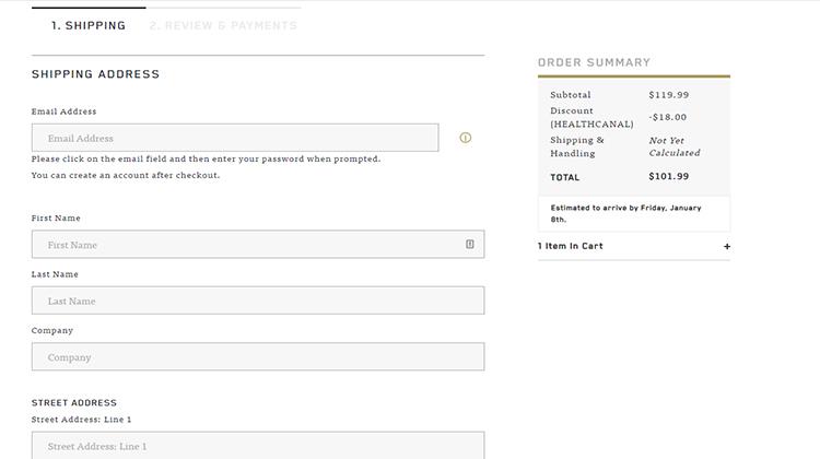 charlotte discount code step 6