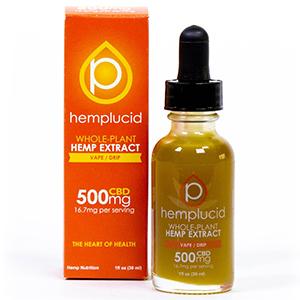 hemplucid vape juice