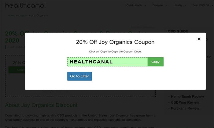 joy coupon 1