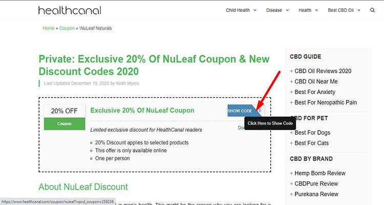 nuleaf coupon step 1.0