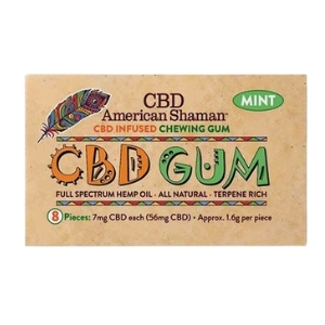 CBD American Shaman Chewing Gum