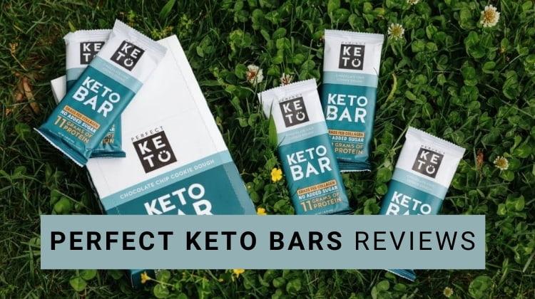 perfect keto bars reviews