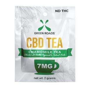 Green Roads Chamomile CBD Tea