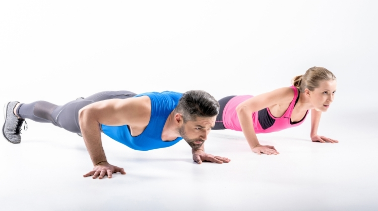 How I Lost 20 Pounds Doing 100 Push-Ups Every Day