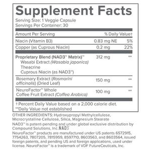 Longevity Max Ingredients