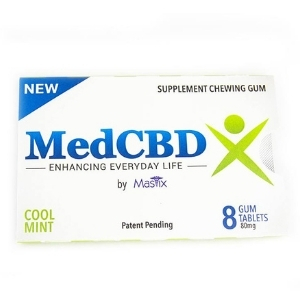 MedCBDX CBD Chewing Gum