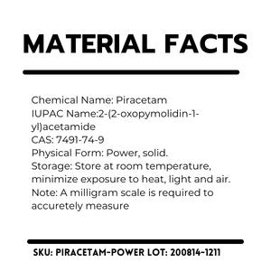 Science.Bio Piracetam Ingredients