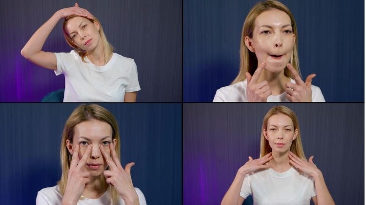 Try Facial Exercises