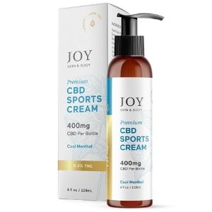 Joy Organics CBD Sports Cream