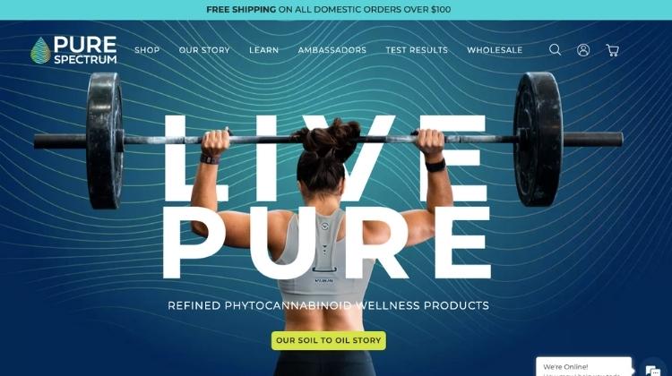 Visit Pure Spectrum CBD Official Website