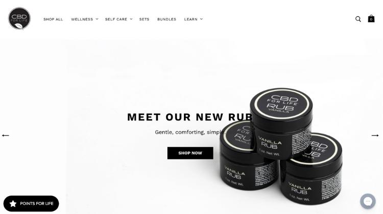Visit the official website, cbdforlife.us